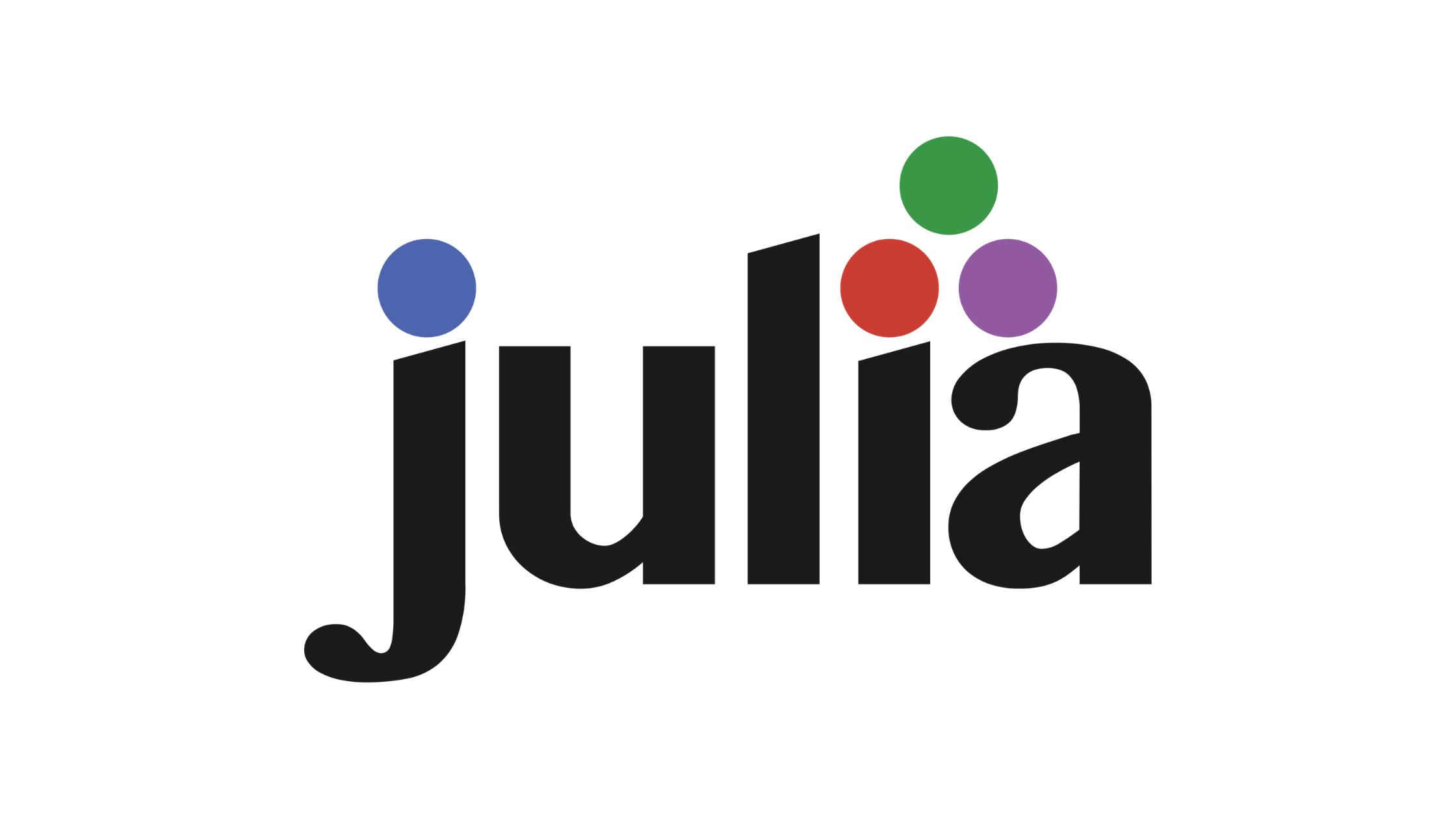 Julia Programming Language 1.5