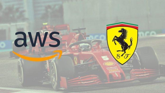 AWS is Ferrari's Cloud provider