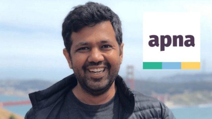 Apna raised US$70 million