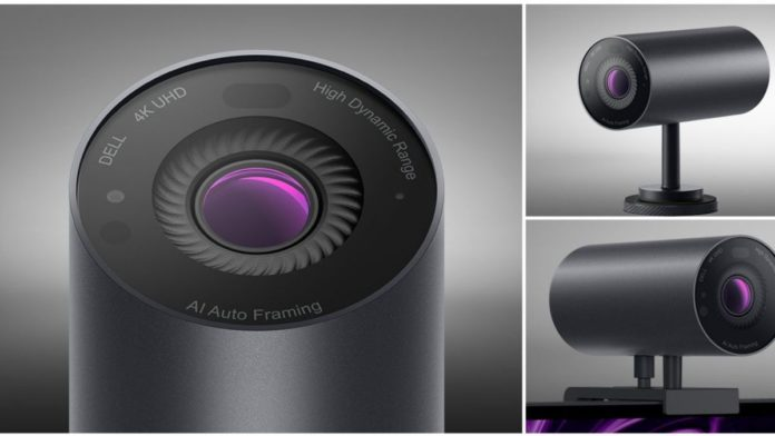 Dell Launched Artificial Intelligence Powered 4K Webcam In India