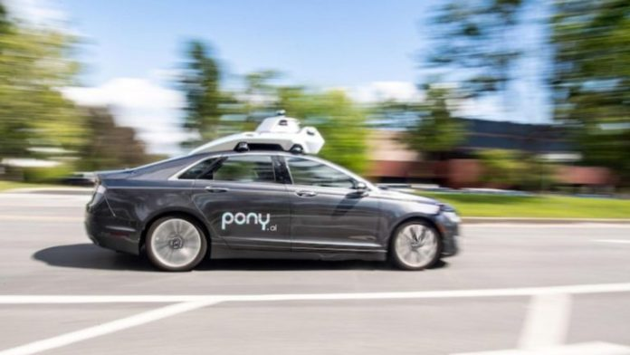Pony.ai Launch Robotaxis In California