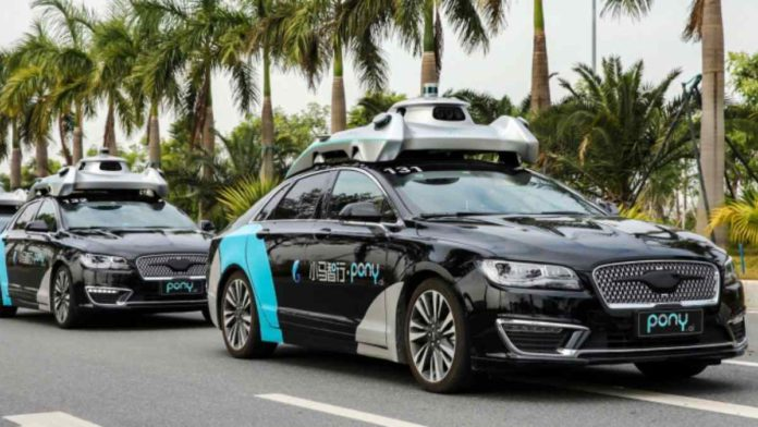 Self-Driving Startup Pony.ai Considers Going Public