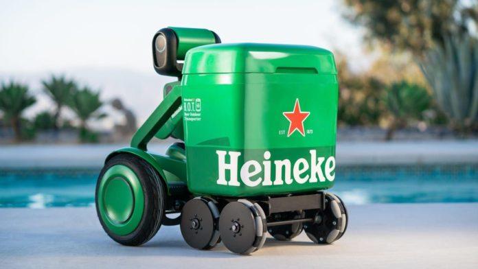Heineken Unveiled Its Beer Outdoor Transporter or B.O.T
