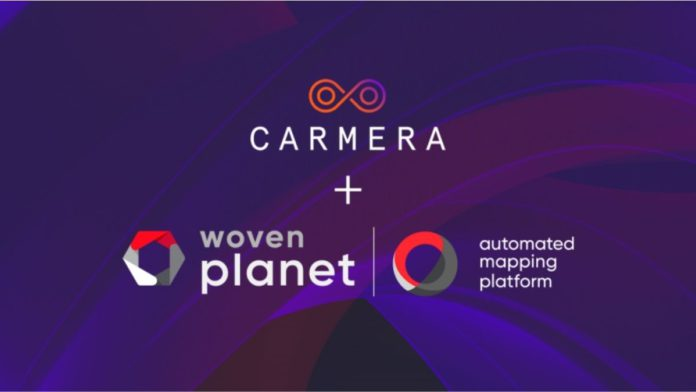 Toyota's Subsidiary Woven Planet Holdings Acquired CARMERA