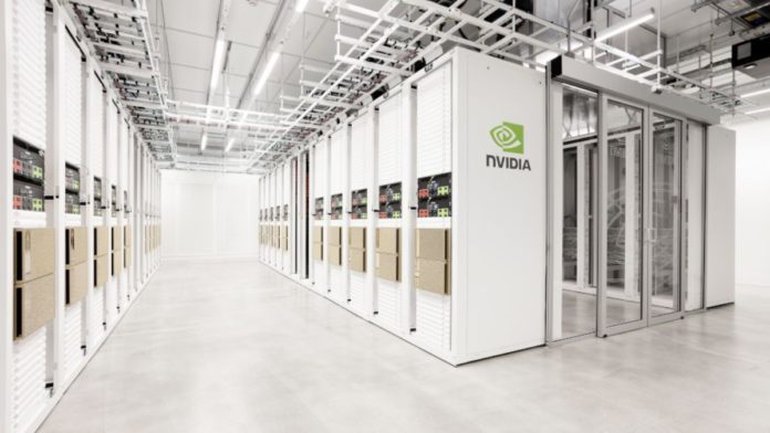 Nvidia's supercomputer for reaserch