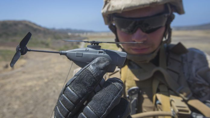 Artificial Intelligence in Military Drones