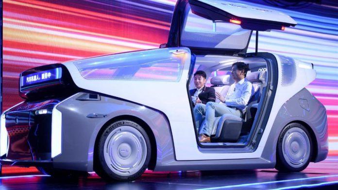 Baidu unveils autonomous robocar - L5 driving functionality