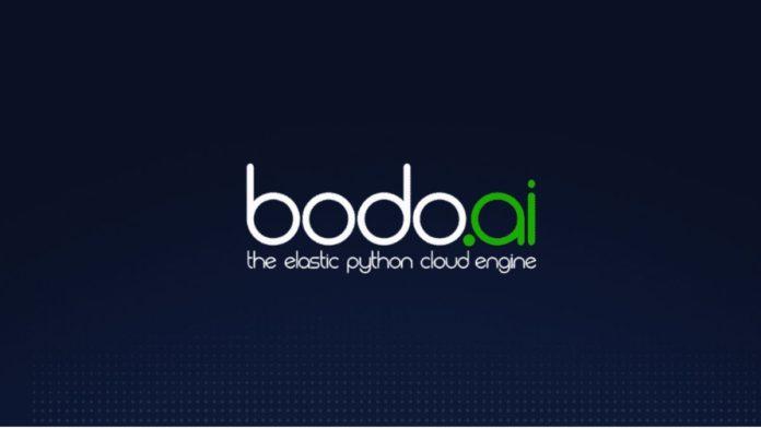 Bodo.ai funding, Dell Technologies Capital, Python parallelization data analytics