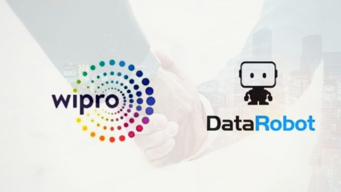Wipro And DataRobot Partnership for Augemented intelligence ai solutions