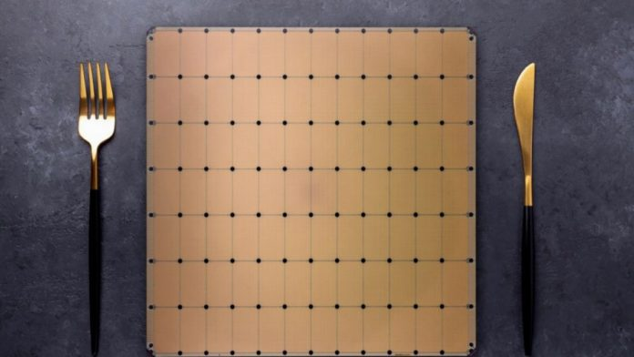 World's largest chip CS-2, Cerebras Systems, CS-2 Wafer Scale Engine 2 processor