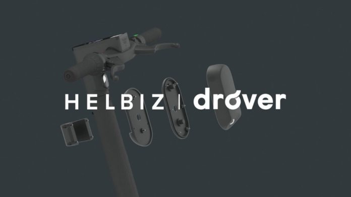 Helbiz partners drove artificial intelligence scooter