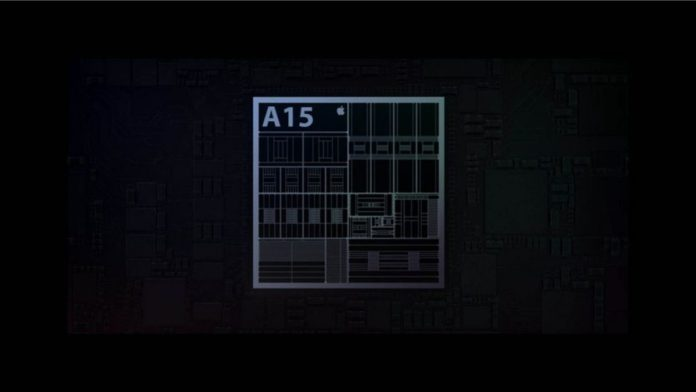 Apple A15 Bionic chip for iPhone 13