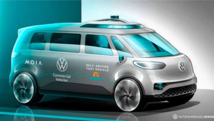 Volkswagen Argo AI ID.BUZZ AD