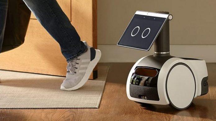 Amazon home robot Astro