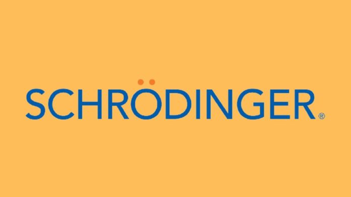Schrodinger artificial intelligence medical drugs